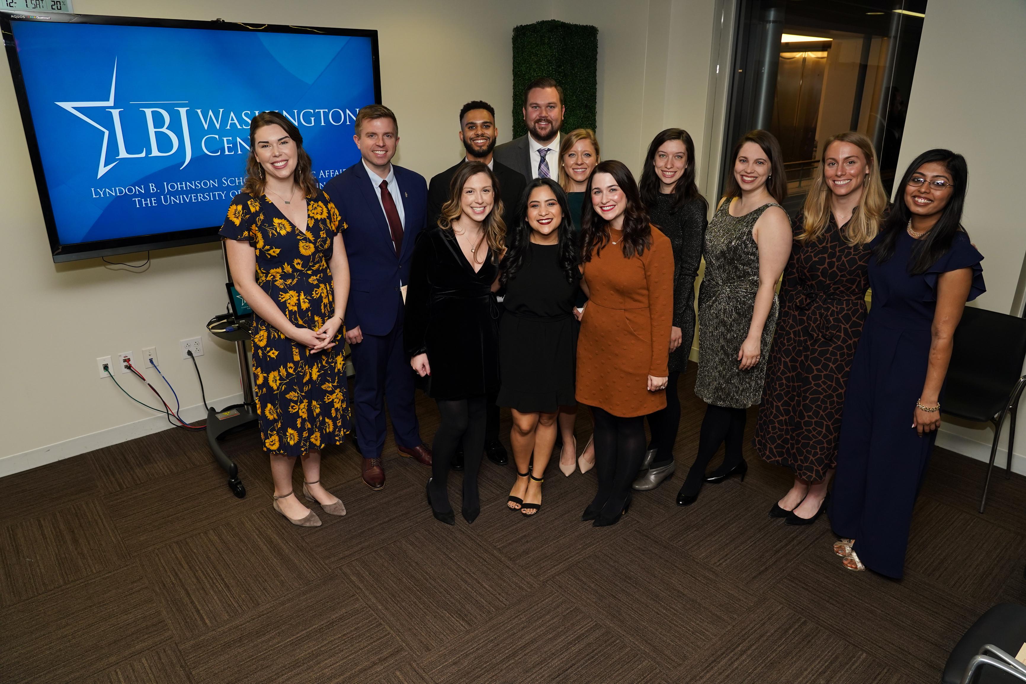 2019 LBJ DC Fellows at Graduation