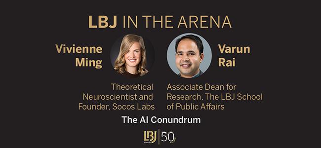 LBJ In the Arena, Nov. 18, 2020 — The AI Conundrum