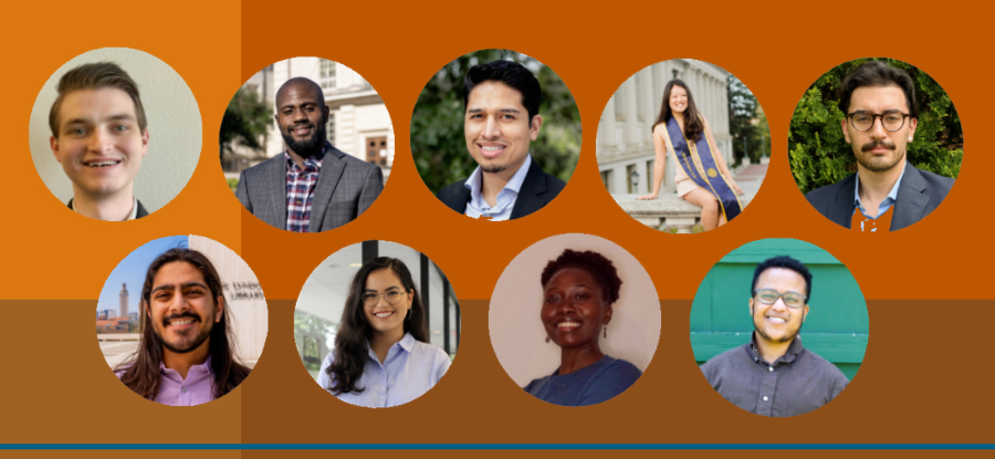 LBJ's PPNV Fellows: Walker Adams; Azeem Edwin; Irving Calderon; Amanda Chung; Joseph Flores; Sheriyar Hyderali; Priscilla Lugo; Liberte Manirakiza; Shaw Vallier