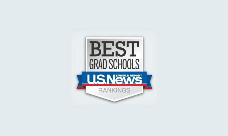 Logo for U.S. News & World Report's best grad school rankings