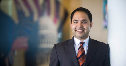 Dr. Varun Rai, associate dean for research at the LBJ School, director of the Energy Institute
