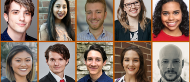 Collage of 10 headshots of the 2021 LBJ DC Fellows