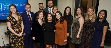 The 2019 cohort of LBJ DC Fellows.